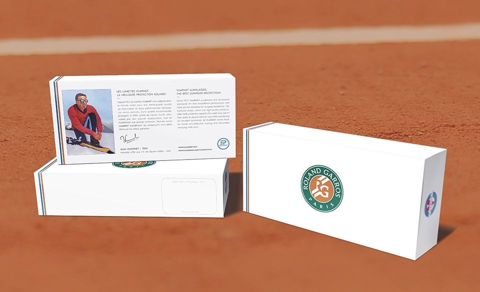 Collection Capsule Roland Garros x Vuarnet