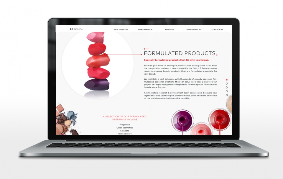 LF Beauty Page Interne - Our Expertise