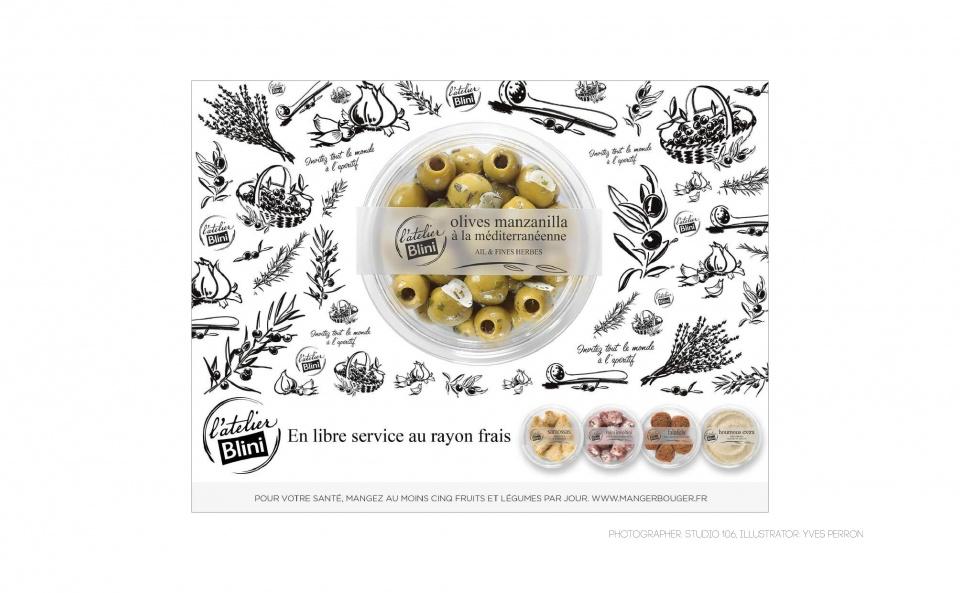Blini Olives