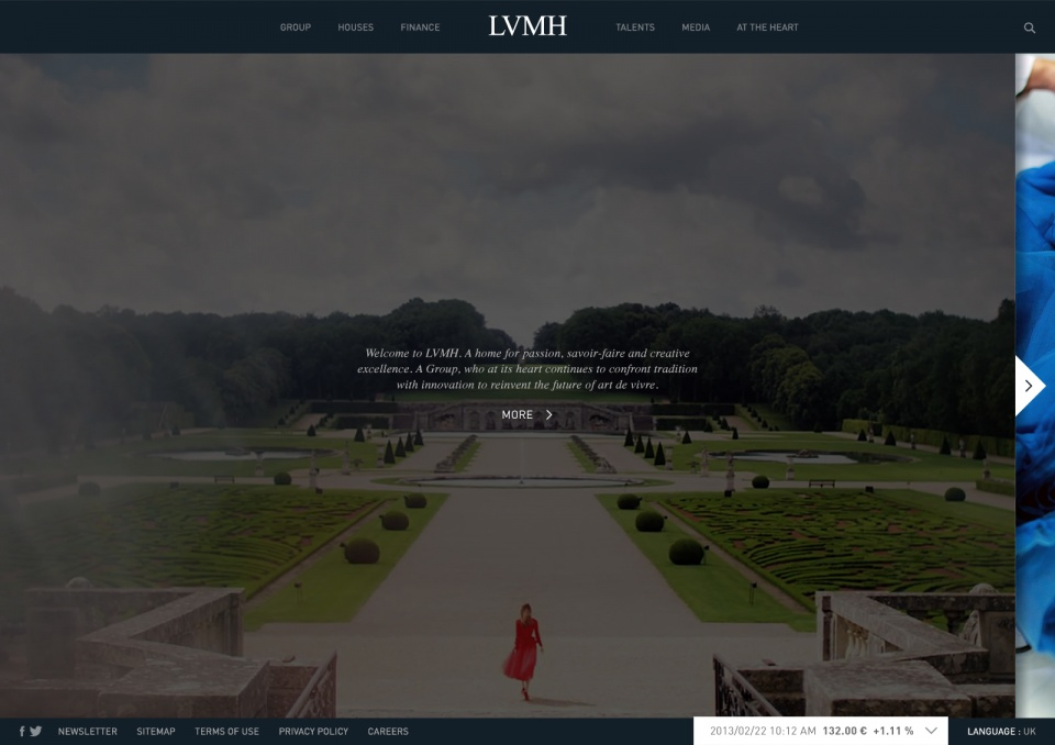 Welcome to LVMH