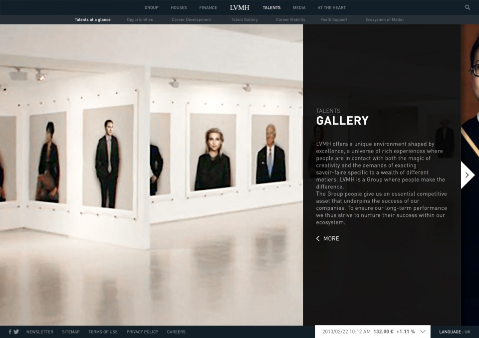 Talents gallery