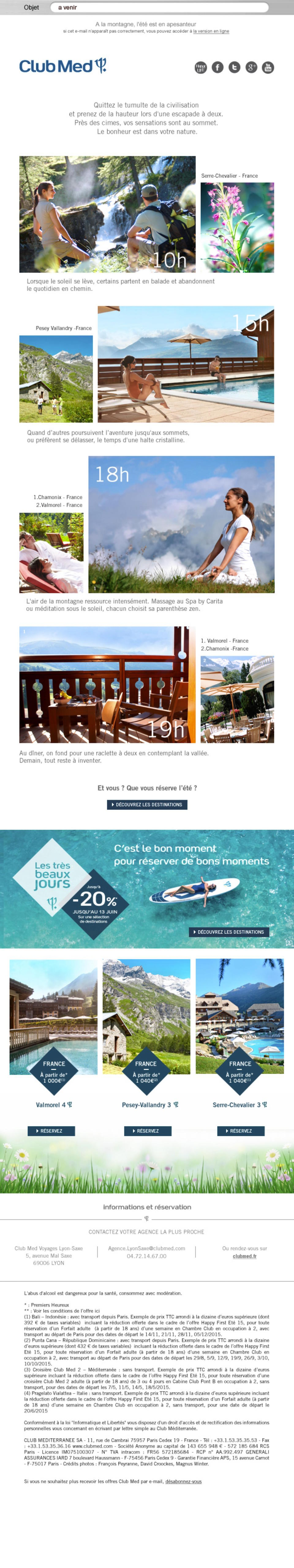 Mailing Club Med 4