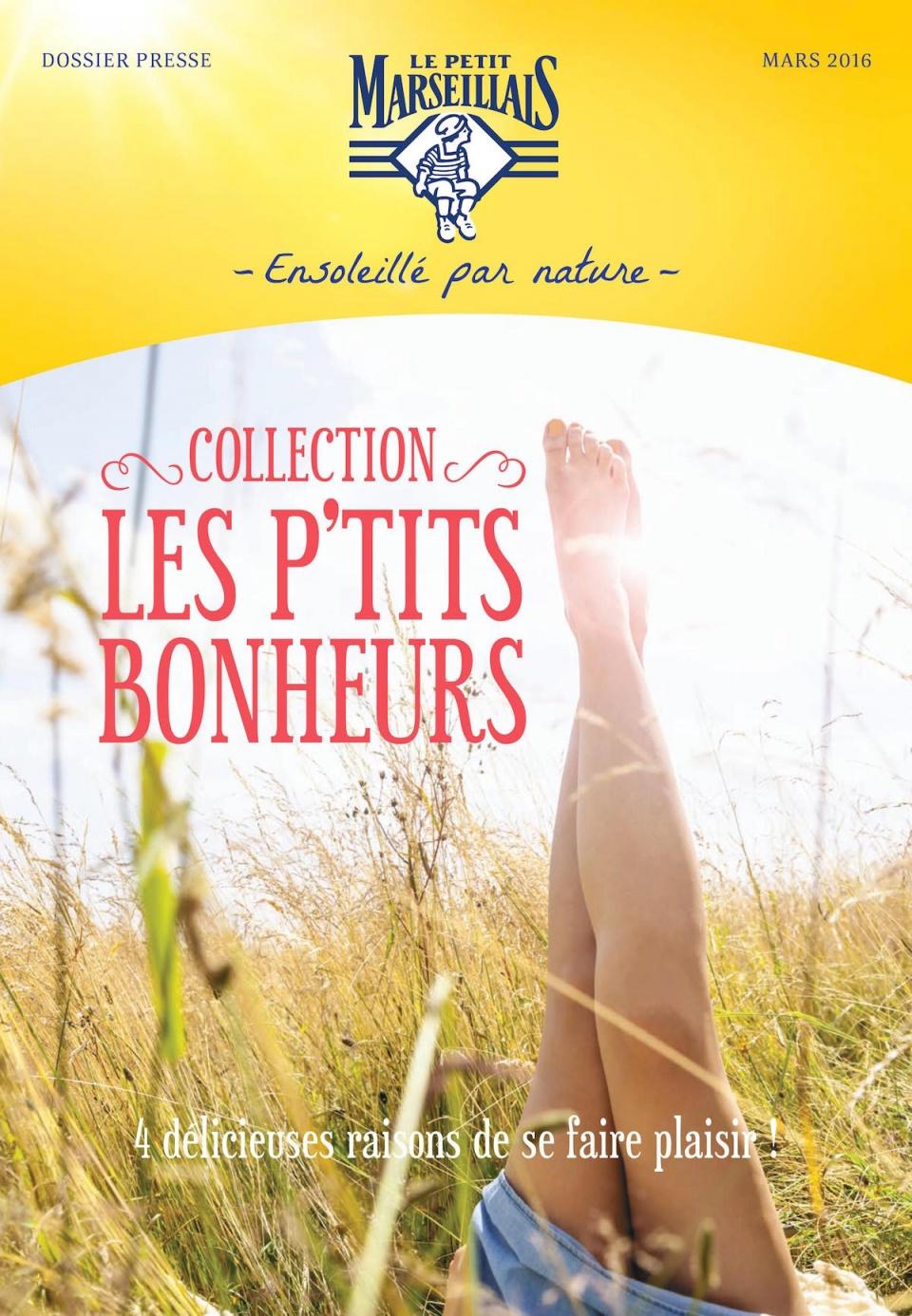 Dossier de presse Le Petit Marseillais
