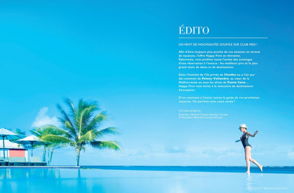 Magazine Club Med 1