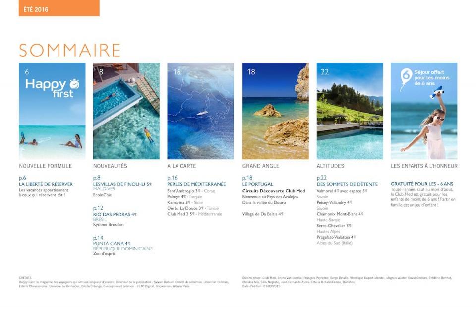 Magazine Club Med 4