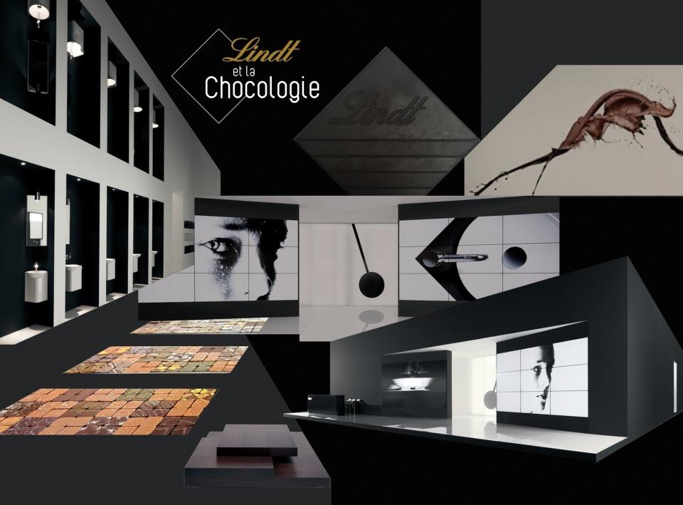 """LINDT / """"Lindt et la Chocologie"""" / Mood-board"""