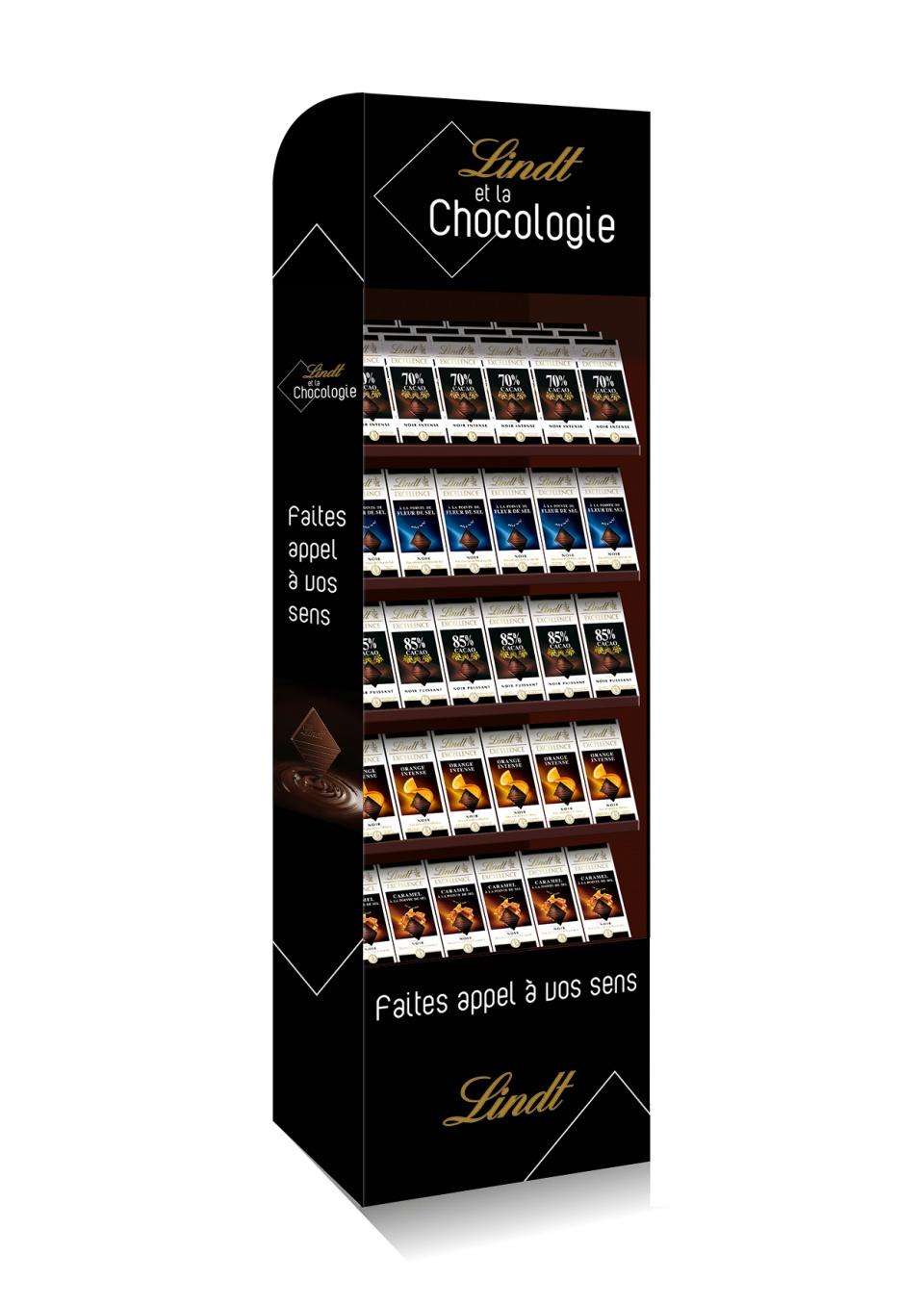 Lindt et la Chocologie / Display