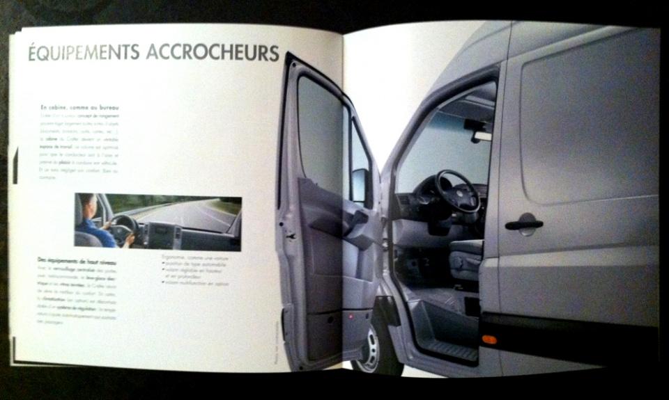 Volkswagen Véhicule Utilitaire / Lancement du Crafter