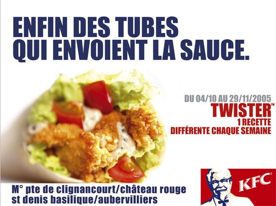 KFC / Campagne Affichage 4x3