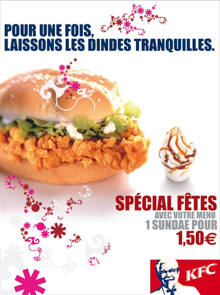 KFC / Campagnes 36O - Affichage 4x3