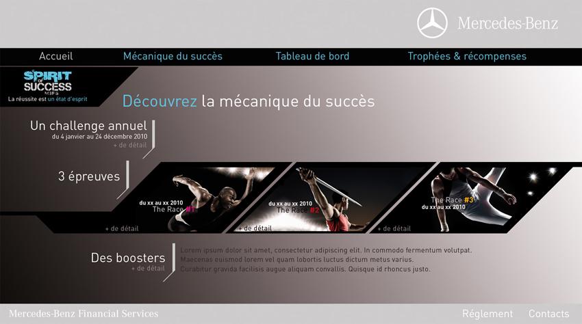 Mercedes-Benz / Stimulation de forces de vente