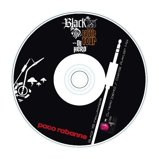 "Paco Rabanne - ""Black XS VS DJ Hero"""