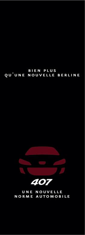 Peugeot / Lancement de la 407