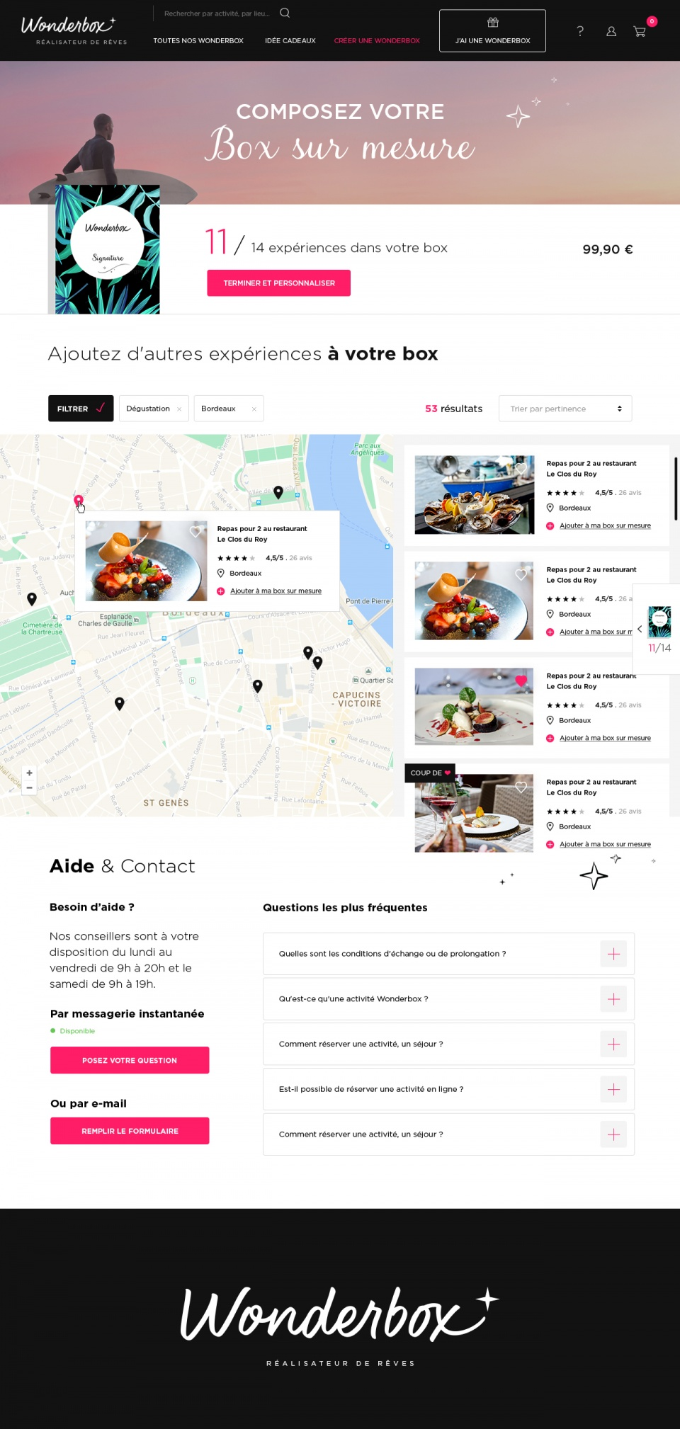 Site Wonderbox