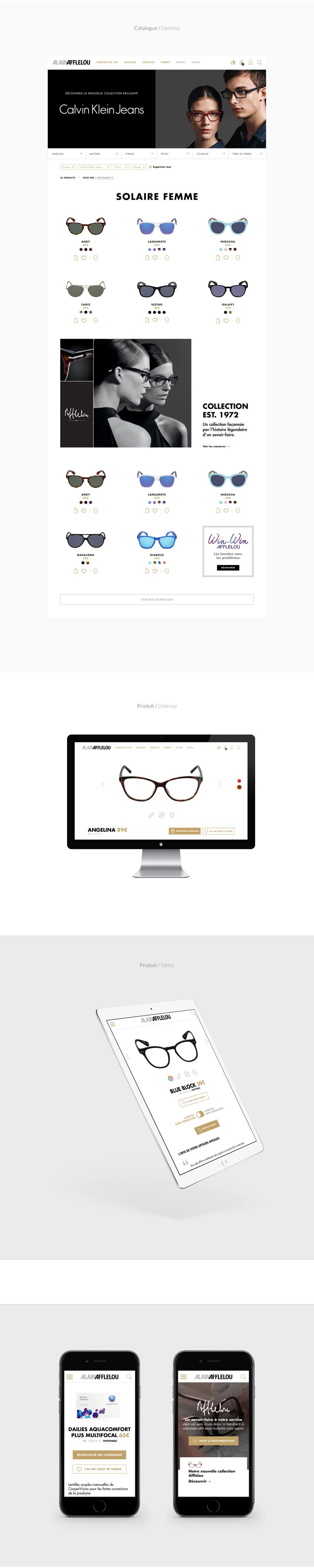 Alain Afflelou - Web Design - UX/UI design