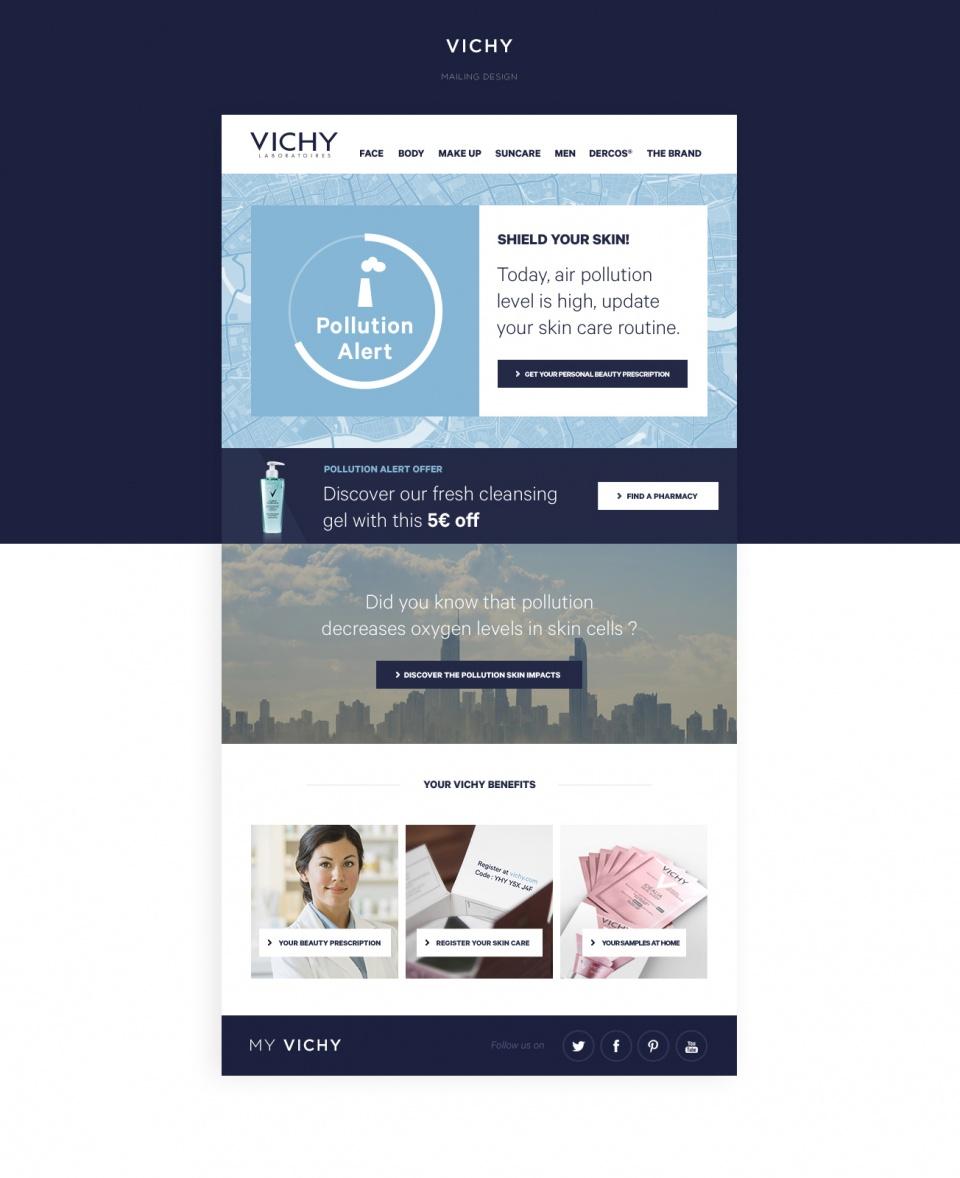 Vichy - Web Design UX/UI