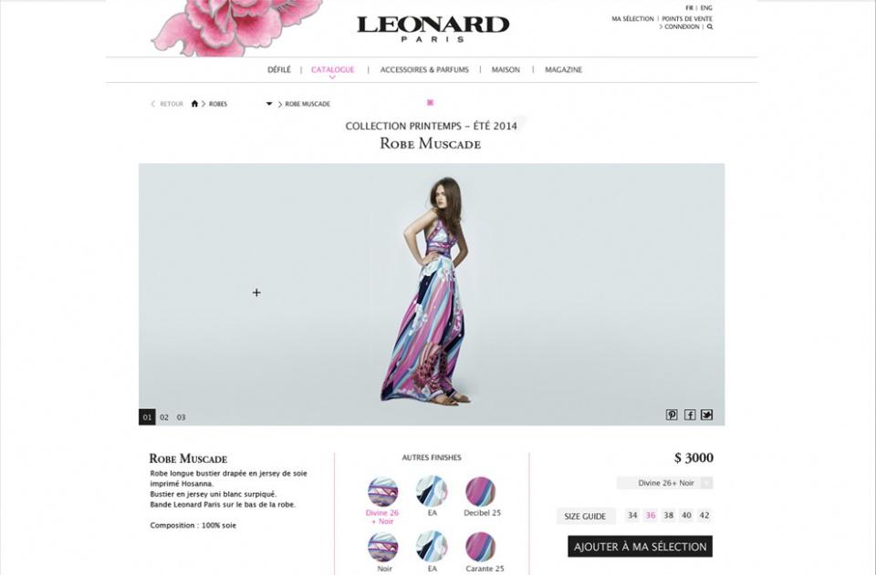 Maquette leonard