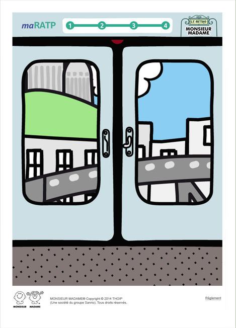 MAQUETTE RATP