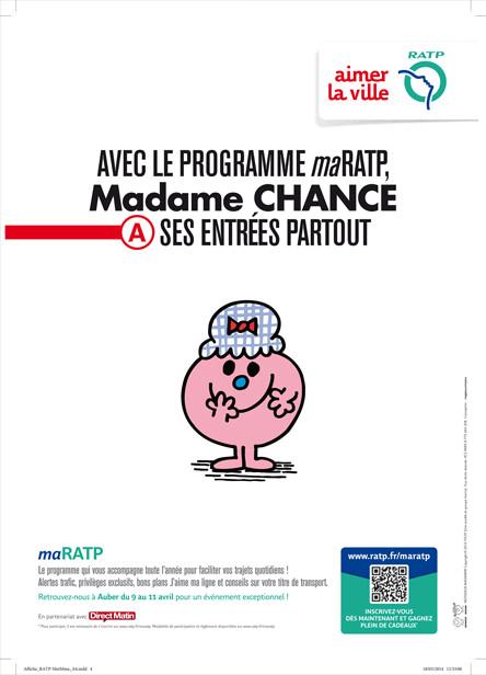 Affichage RATP