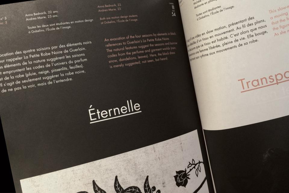 Exposition de La Petite Robe Noire de Guerlain
