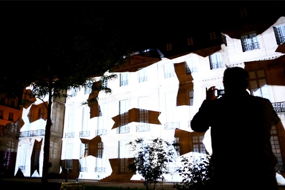 Vidéo Mapping, Musée Picasso