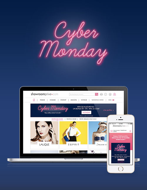 Cyber Monday - opération marketing