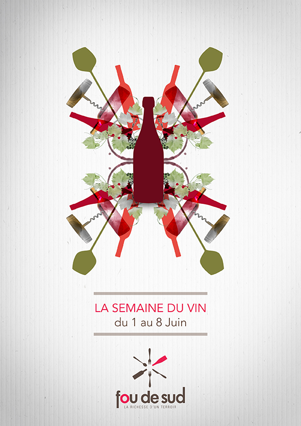 Affiche  évènementielle FOU DE SUD