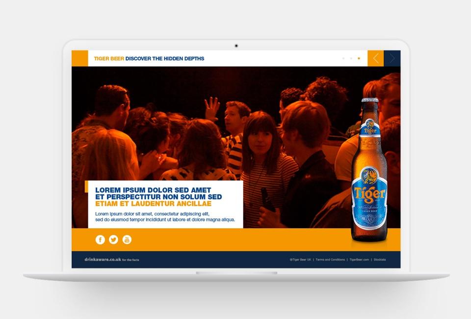 Tiger Beer Discover the Hidden Depths - Event