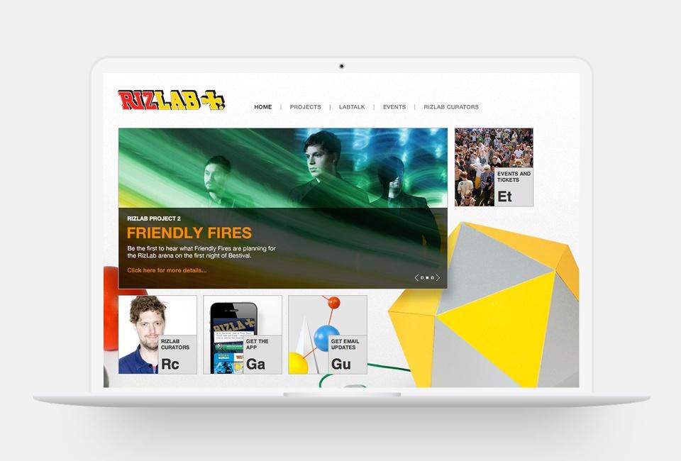 Rizlab website - home