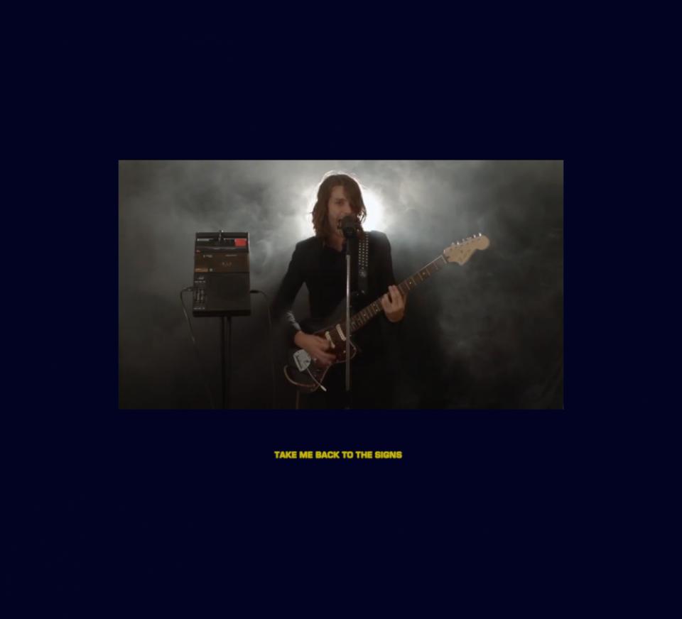 Page vidéo