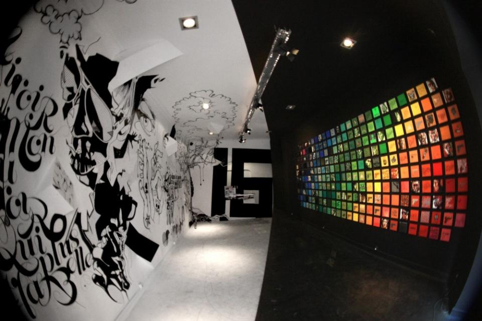 Vue globale de l'exposition