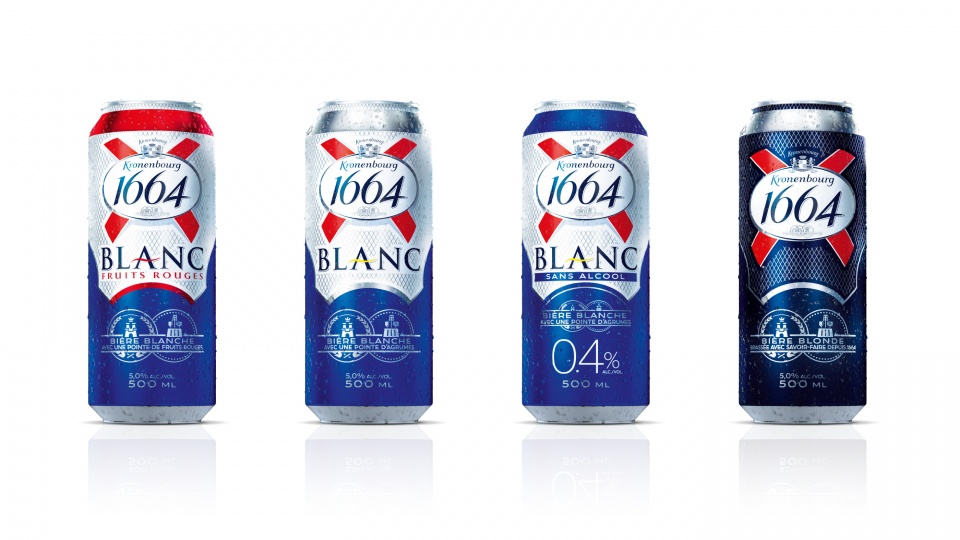 1664 BLANC - Cans