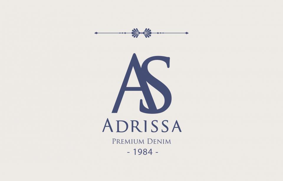 """Identité visuelle de la marque """"Denim"""" d'Adrissa (Colombie)"""