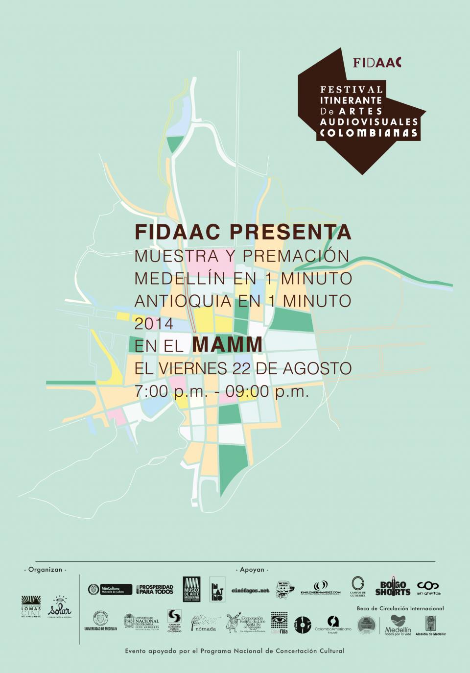 Affiche FIDAAC 2014