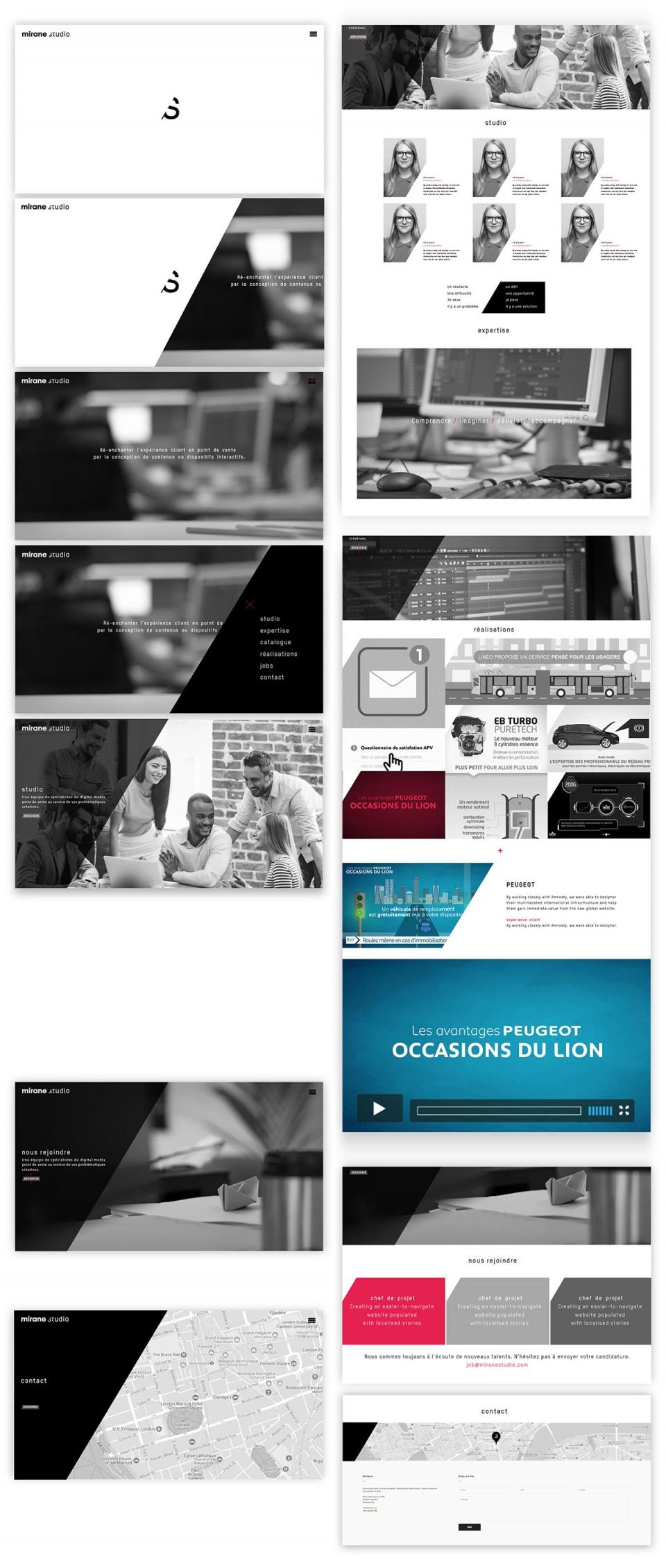 Maquette - Webdesign