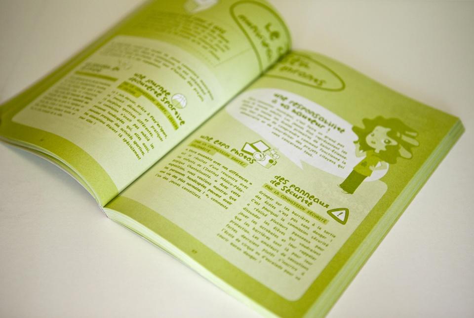 Pages intérieures