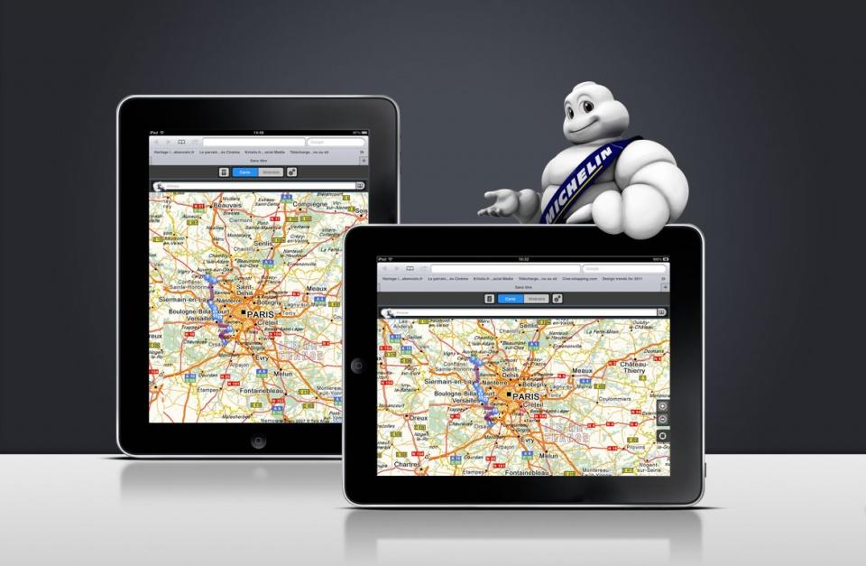 Mise au format iPad de l'application