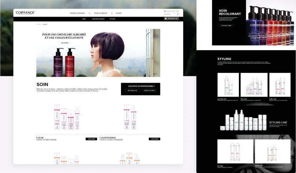 Homepage - Coiffance Professionnel