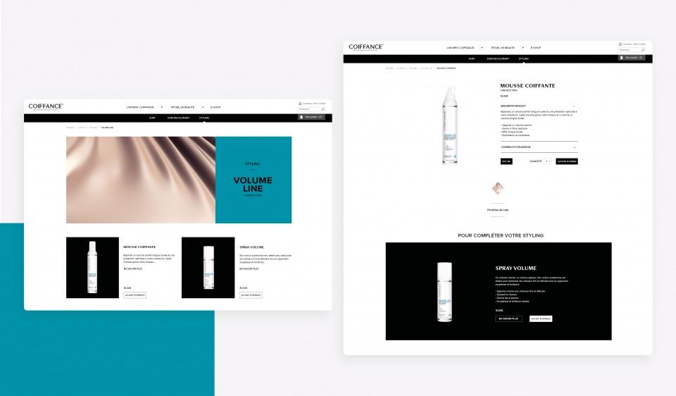 Page produit - Coiffance Professionnel