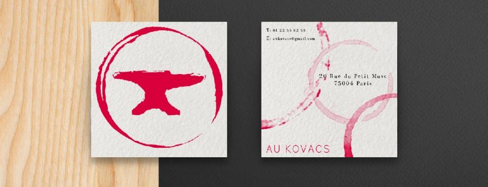 Au Kovac-Carte de visite