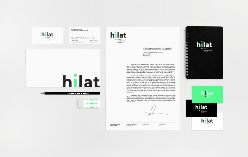 Hilat branding