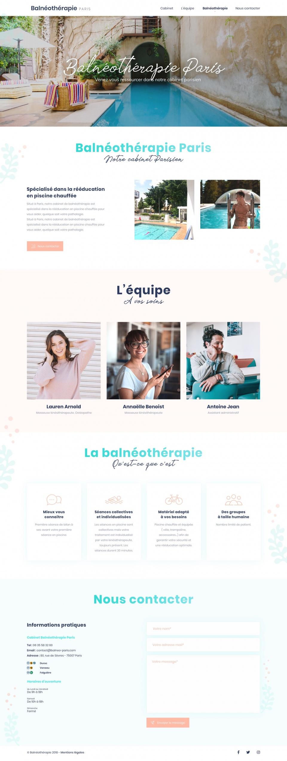 Balneotherapie Paris