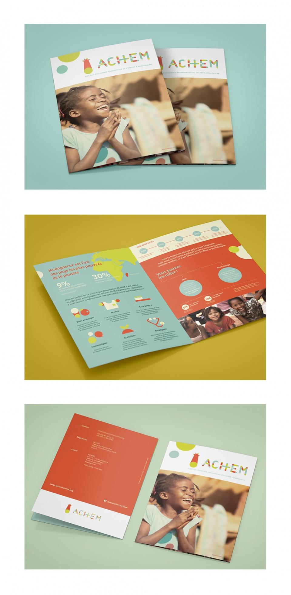 Design d'un leaflet de présentation