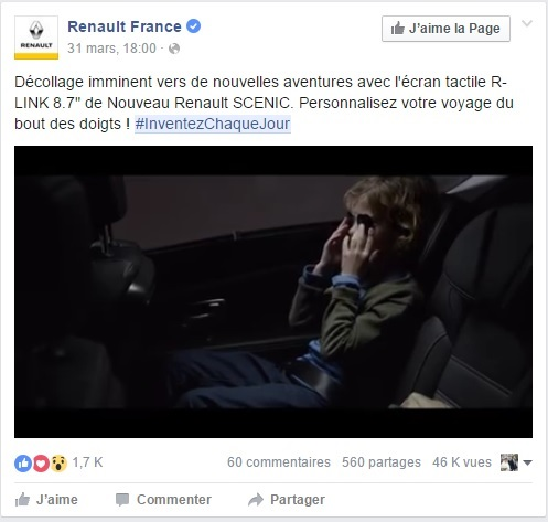 Renault /// Facebook