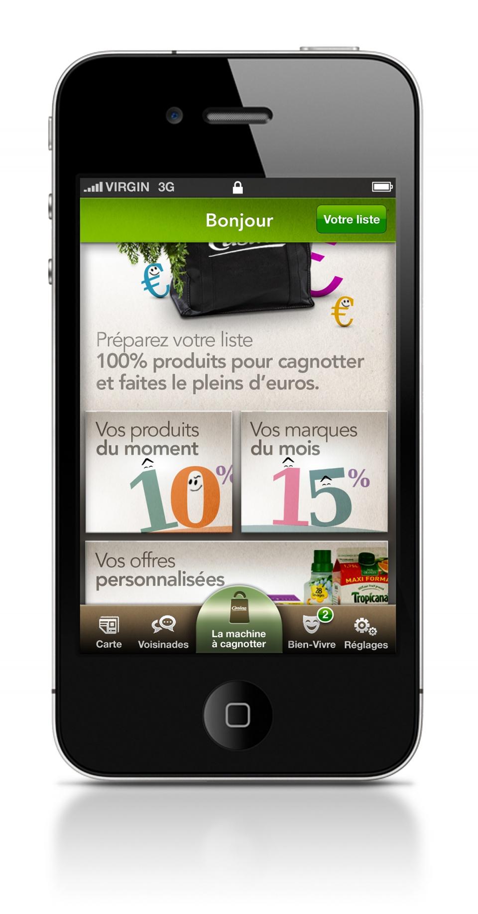 Appli mobile