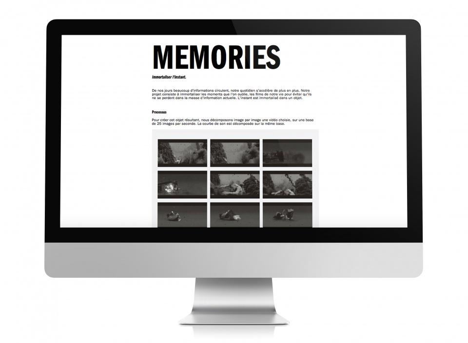 memories web