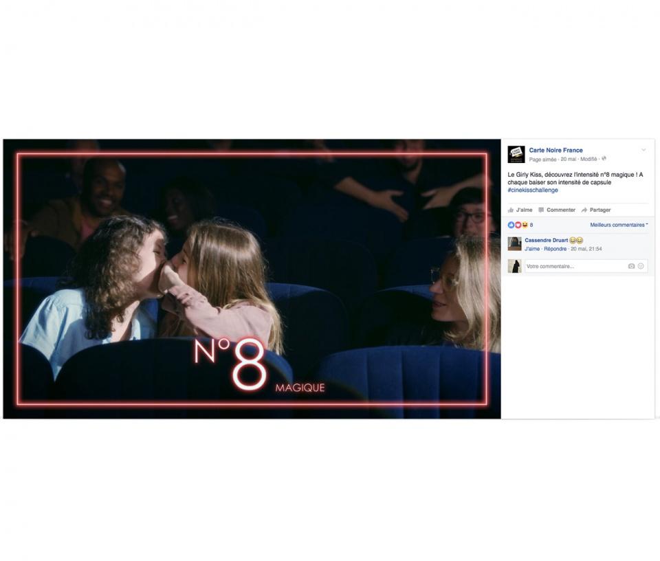 le Girly Kiss avec l'intensité n°8 magique