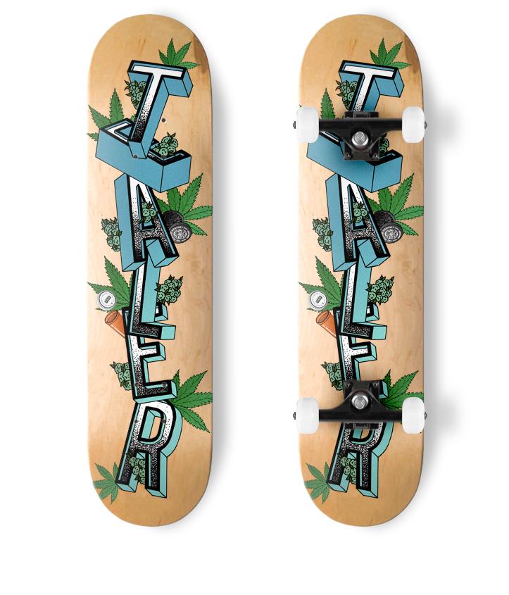 Skate Tealer