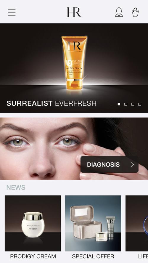 Helena Rubinstein - Homepage