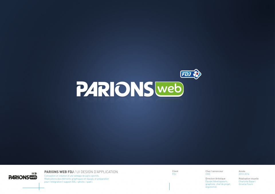 Application Parions Web